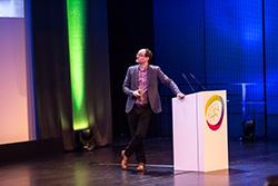 David Mattin auf der Handelskraft Konferenz 2018