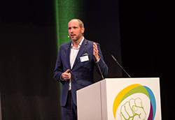 Paul Gössinger auf der Handelskraft Konferenz 2018