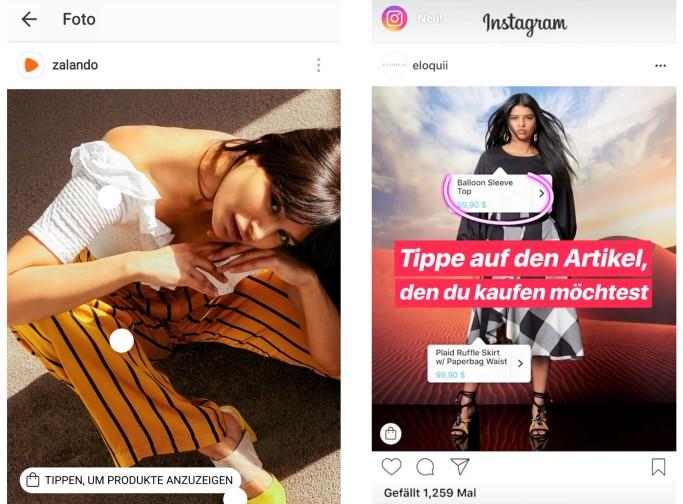 Screenshot: Instagram (Zalando; Instagram)