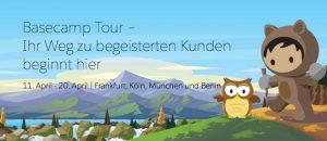 Salesforce Basecamp-Tour macht 2018 vier Mal in Deutschland Station [Eventtipp]