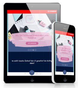 State-of-the-Art: Die STABILO Markenwelt ist konsistent über alle Touchpoints