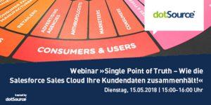 Single Point of Truth – Kundendaten Management mit der Salesforce Sales Cloud [Webinar]