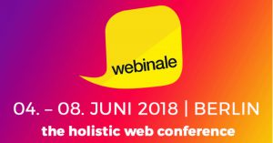 Webinale – The Holistic Web Conference [Eventtipp]