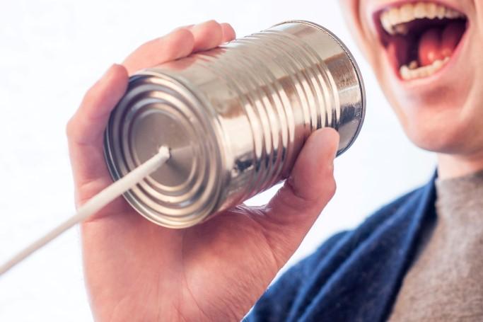 kommunikation, sprechen, stimme, suche, dose, mund
