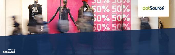 sale schaufenster 50% pink
