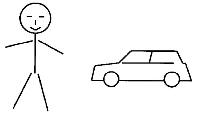 Kind und Auto