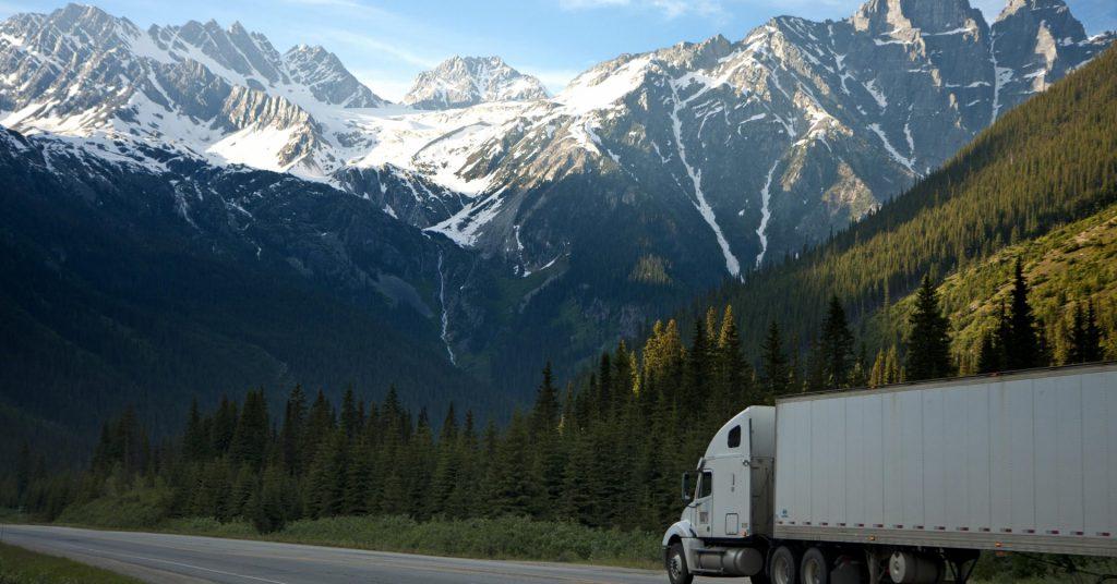 bergen, lkw, logistik
