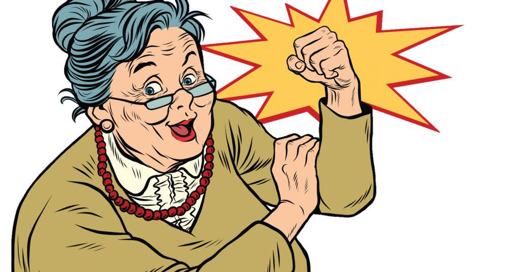 Comic Tante Emma