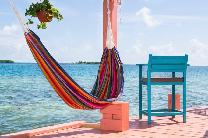 belize, bird island, airbnb