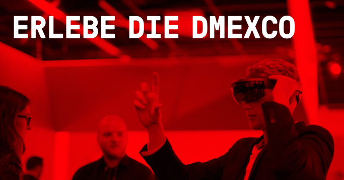 DMEXCO rot VR Brille