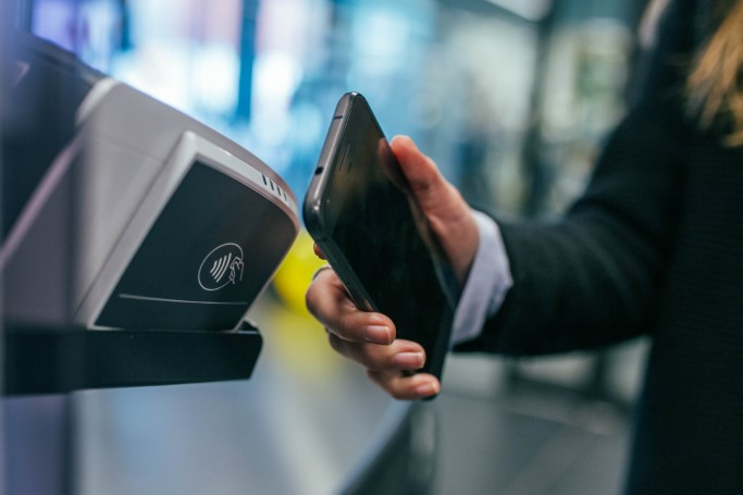 mobile payment, smartphone, kontanktlos