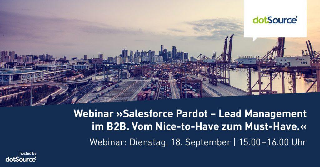 Webinar Salesforce Pardot