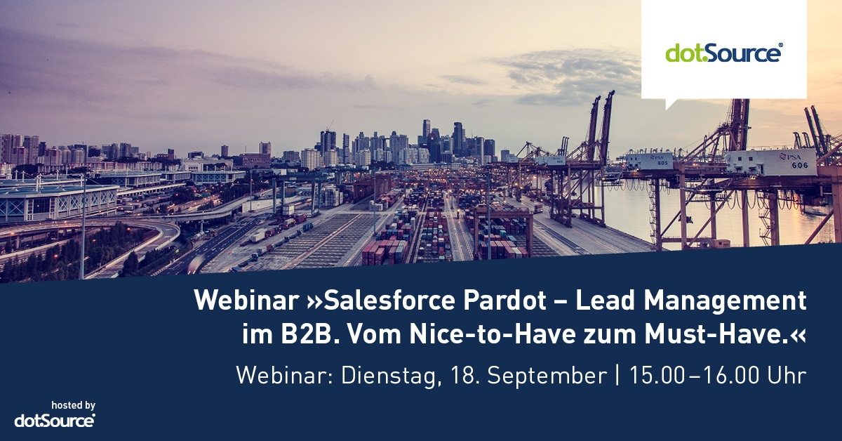 Webinar: Salesforce Pardot – Lead Management im B2B [Last Call]