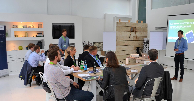 »B2B-Marktplätze in der Plattformökonomie« – Handelskraft Digital-Frühstück in Düsseldorf [RECAP]