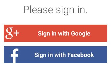 Sign in with