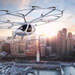 Netzfund: Fliegende Taxis – das Uber der Lüfte