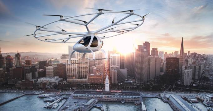 Volocopter Flugtaxi