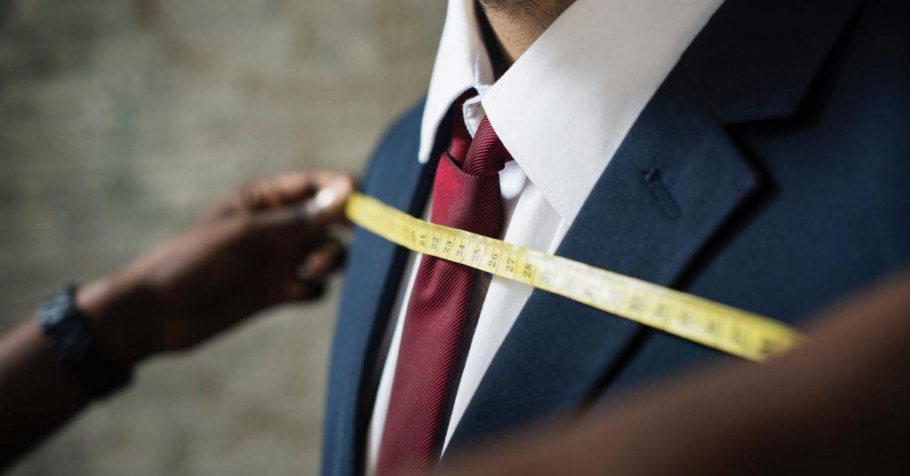 Oberkörper messen