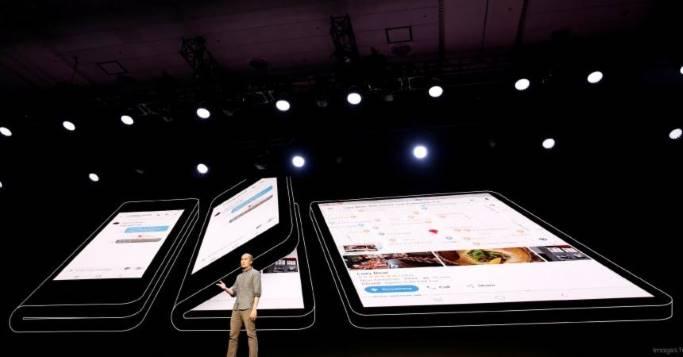 Das neue faltbare Smartphone von Samsung.