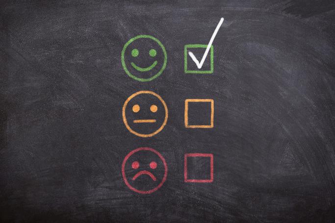 checklist emoji auf tafel