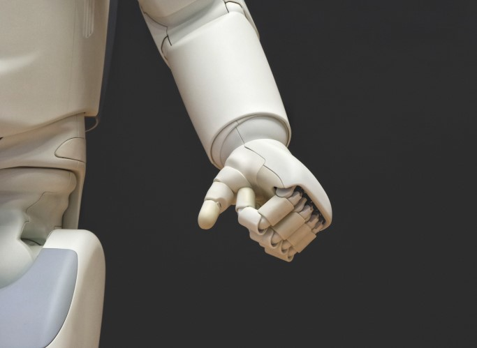 roboter, humanoide, arm, hand, technik