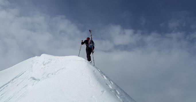 gipfelstürmer ski. schnee