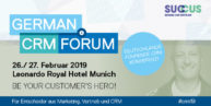 German CRM Forum [Eventtipp]