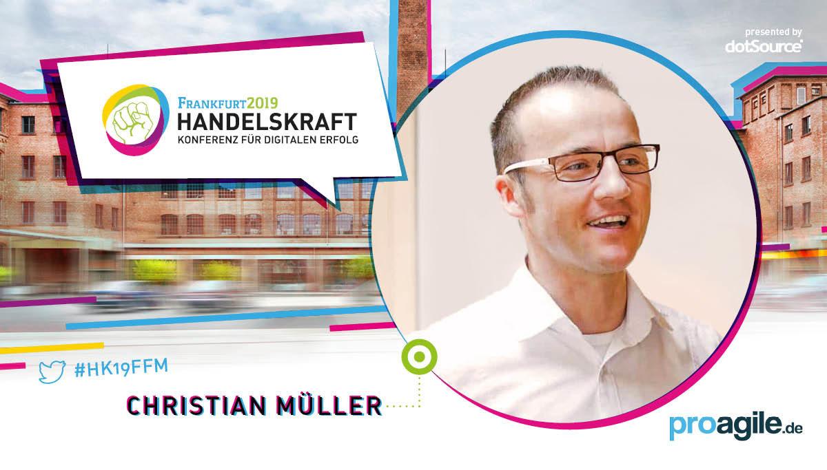 »Neue Prozesse einzuführen, ohne sich mit Werten und Prinzipien zu beschäftigen, wird die Ausgangslage schlimmstenfalls verschlechtern.« – Handelskraft Speaker Christian Müller im Interview