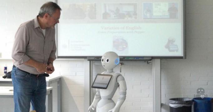 Roboter im Hörsaal