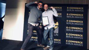 Oliver Kling und Sebastian Klein bei der Awardverleihung in Berlin