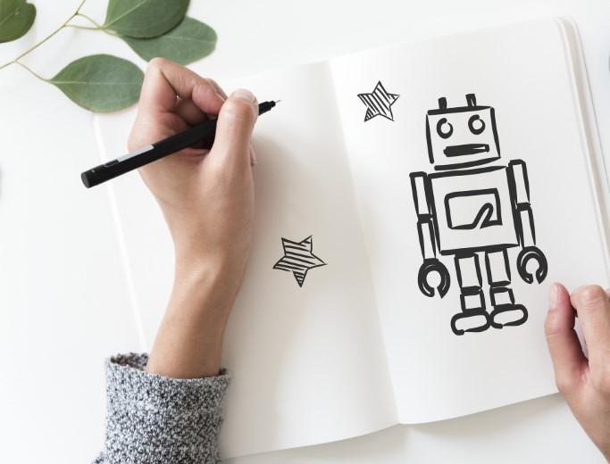 KI, roboter, content, argumentieren