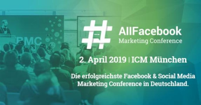Banner der AllFacebook Marketing Conference