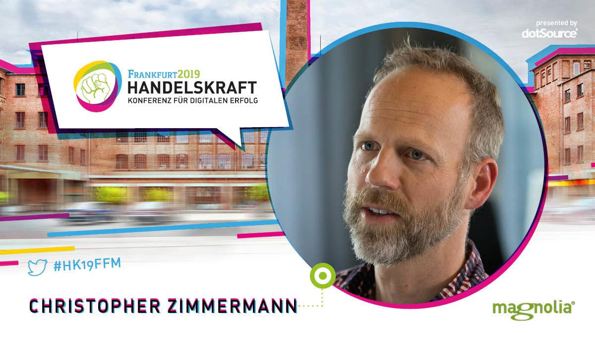 »Die wahre Aufgabe des CMS ist es, gut mit KI-Systemen und Services zu interagieren, anstatt sie selbst zur Verfügung zu stellen« – Interview mit Handelskraft-Speaker Christopher Zimmermann