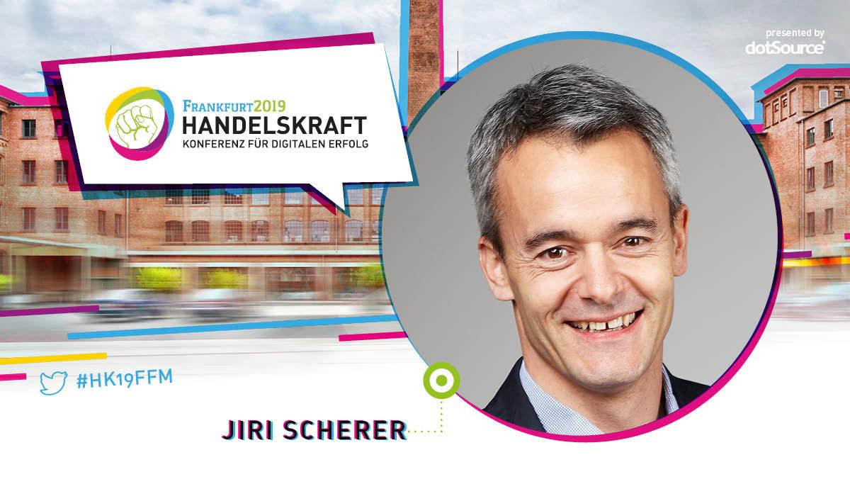 »Struktur und Kreativität schließen sich nicht aus« – Interview mit Handelskraft-Speaker Jiri Scherer