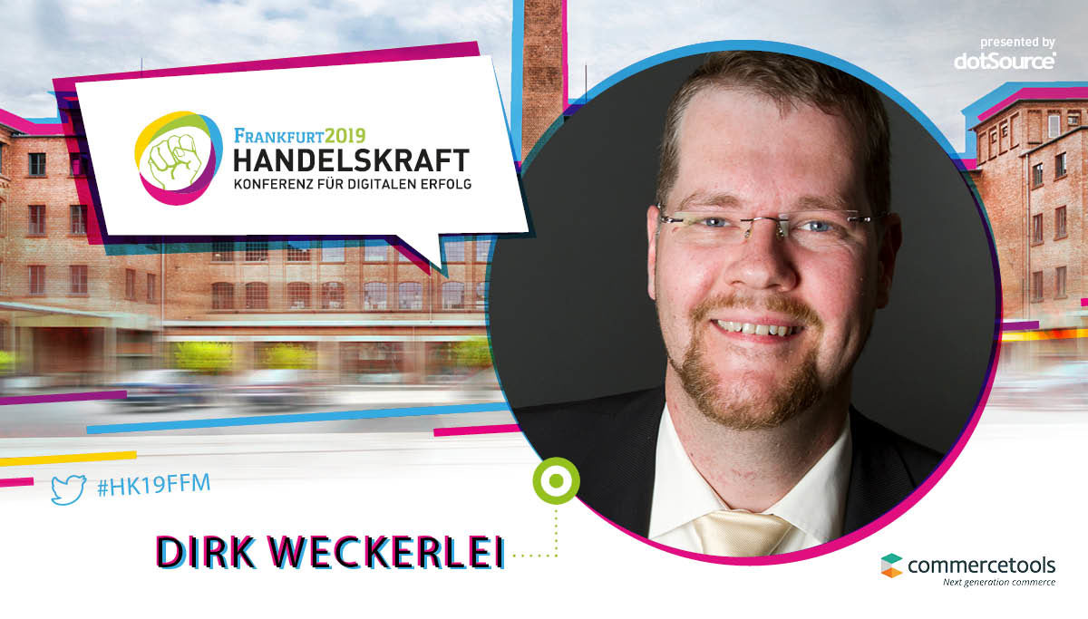 »Funktionalitäten und Softwareprodukte sind digitale enabler, keine Problemlöser« – Interview mit Handelskraft-Speaker Dirk Weckerlei