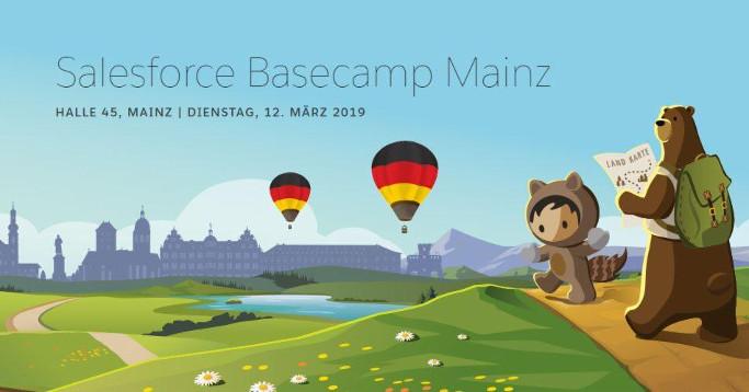 Heißluftballons über Mainz Salesforce Design