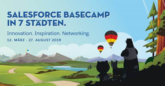 Salesforce Basecamp 2019 zeigt die Customer Engagement Plattform