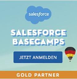 Salesforce Basecamps Gold Partner Anmeldung CTA