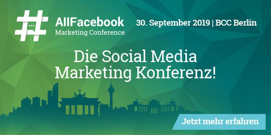 All Facebook Marketing Conference [Eventtipp]