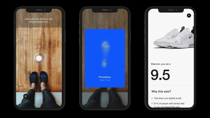 Augumented Reality, Nike, App, E-Commerce