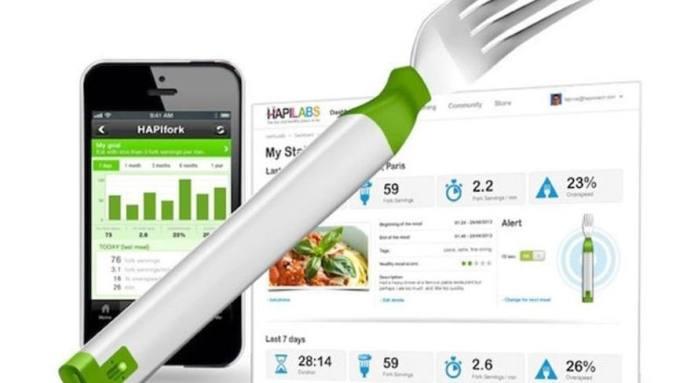 smarter essen, hapifork, smart fork, smarte gabel