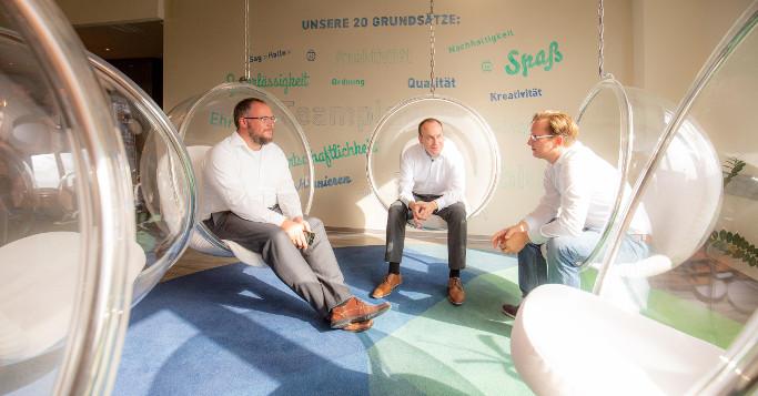 Innovation durch kreative Räume dotSource Valley