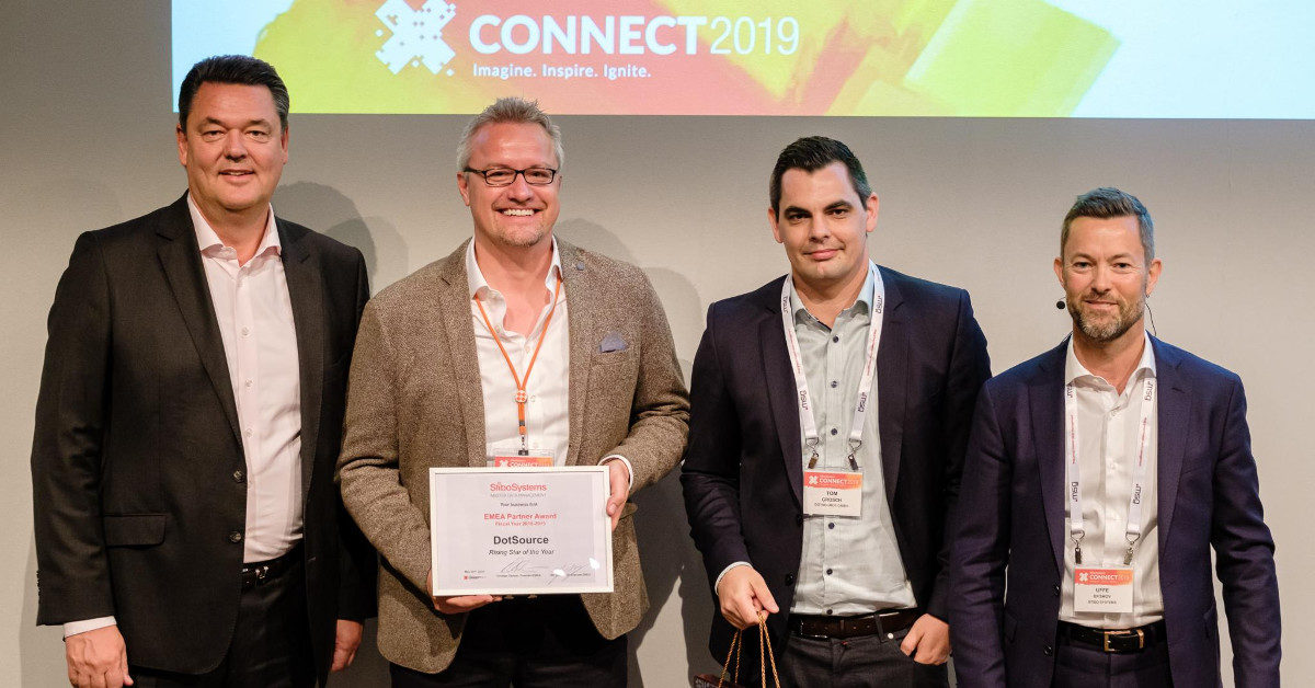 Partner Business is People Business – dotSource ist Stibo »Rising Star of the Year« [In eigener Sache]