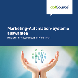 Marketing-Automation-Software auswählen Whitepaper Cover CTA