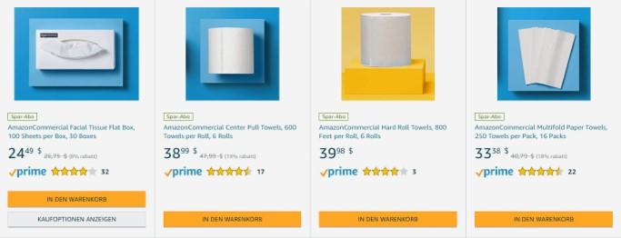 amazon, b2b, eigenmarke, AmazonCommercial