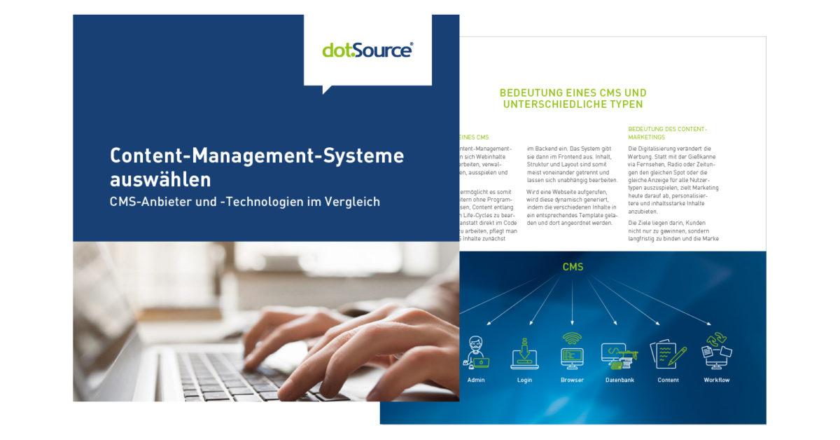 Content-Management-Systeme auswählen – Anbieter und Lösungen im Vergleich [Aktualisiertes Whitepaper]