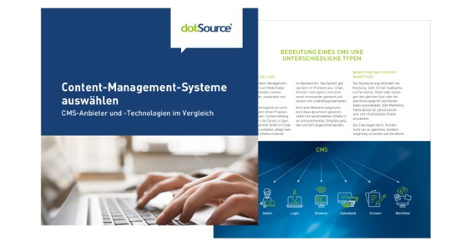 Content-Management-Systeme auswählen Whitepaper Cover