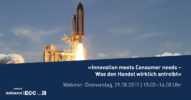 »Innovation meets Consumer needs – Was den Handel wirklich antreibt« [Webinar]
