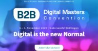 B2B Digital Masters Convention 2019 – Digital is the new Normal