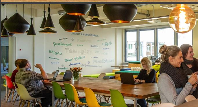Das Büro als WG mit innovativen Konzepten